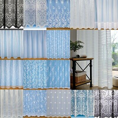 Super Value Net Curtain Voiles Choice Of Designs ~Quality Nets Sold By The Metre