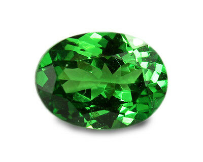 1.10 Carats Natural Tsavorite Gemstone - Oval