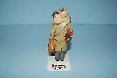 Norman Rockwell Ornament 2000 Homecoming