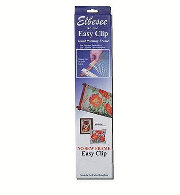 "Elbesse Easy Clip Frame for Tapestry/Cross Stitch - 18"" x 12"""
