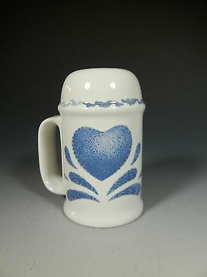 BLUE HEARTS Pattern House of Lloyd 1992 Stove Top 3 Hole Shaker