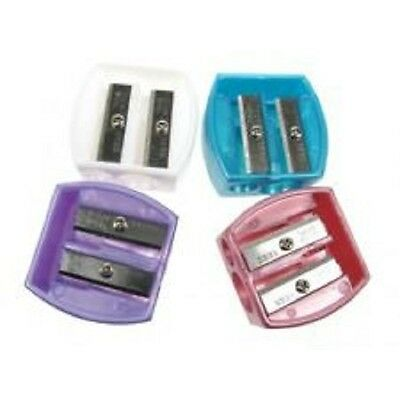 NEW Body Collection Cosmetic Duo Pencil Sharpener  **CHOICE OF COLOUR**