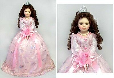 "22"" Quinceanera Dolls - 15 Dolls - Spanish Dolls  - Pink Dress ( EQDoll22)"