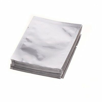 12cm x 20cm Heat Seal Aluminium Foil  Mylar Bags / Pouches Smell Proof Herbs UK