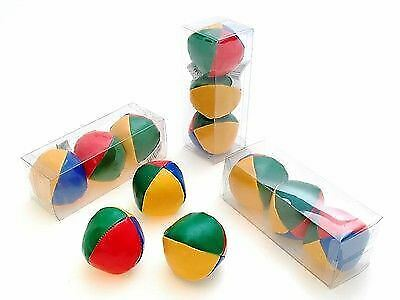 Coloured Juggling Balls Circus Clown Learn To Juggle Circus Toys Pack 3  New