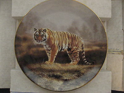 1991 Royal Bengal by Charles Frace W S George Collectors Plate w/COA EUC
