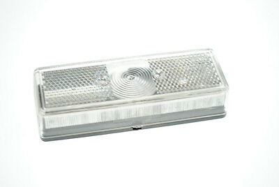 Pair of quality large oblong front marker lamps/lights for plant trailers etc