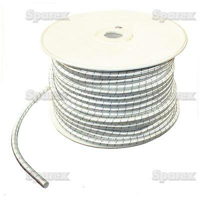 1 METER OF 6mm elasticated rubber bungee/shock cord for trailer covers,caravans