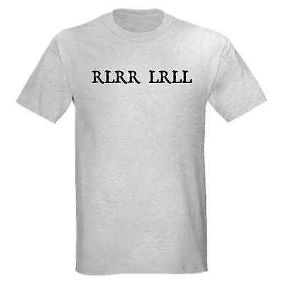 RLRR LRLL DRUMMER DRUM DRUMMING FUNNY SET BAND MUSIC TEACHER T-SHIRT