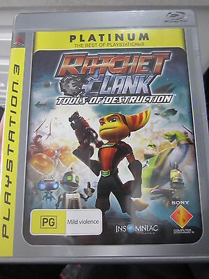 Ratchet Clank Tools Of Destruction Essentials Ps3 Game