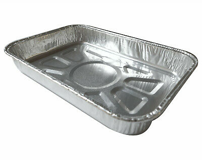 """7.5"""" Foil Trays Dishes Catering Containers Tray Bake Cake Tins Baking Pies"""