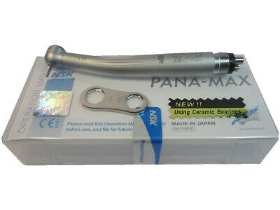 NSK PANA MAX TU Dental High Speed Handpiece Torque Push Midwest 4Holes M4