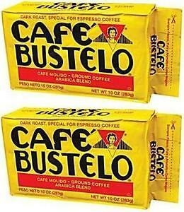 Cafe Bustelo Cuban Coffee Espresso, 10-Ounce Bricks (Pack of 2)