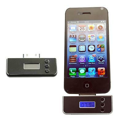 Portable In-Car FM Transmitter Wireless Radio adapter for iPhone 3GS 4 4S IPOD