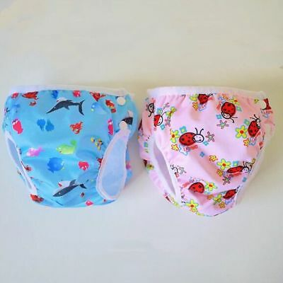 Baby Toddler Swim Nappy Diaper Reusable Pool Pant Waterproof Boy Girl 5 Sizes