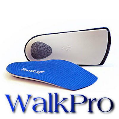 POWERSTEP Slimtech 3/4 Length Orthotic Insole Arch Supports Men's 10 - 10.5