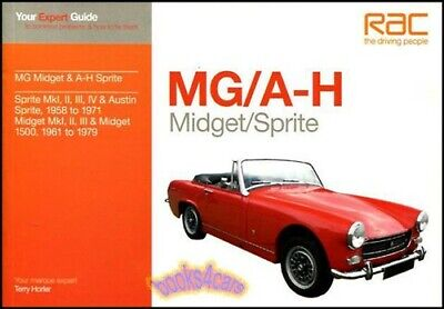 Expert Guide Mg Midget Healey Sprite Repair Manual Book Shop Service 58-79 Rac