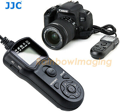 JJC TMC Timer Remote Switch 4 CANON Powershot G1 X G12 G11 G10 60D  RS-60E3