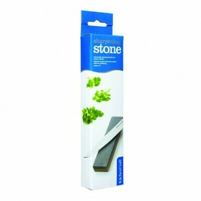 Kitchen Craft Sharpening Stone - Butchers/Kitchen/Chef/Catering Knives