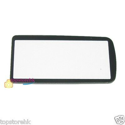 New Nikon D300 Top Small Outer LCD Screen Display Window Glass Cover Part +TAPE