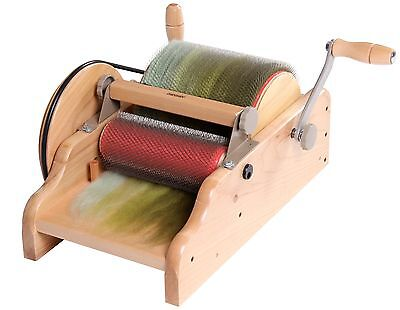 Ashford Drum Carder Fine WITH PACKER BRUSH ADCF