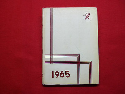 1955 COLDWATER HIGH School Yearbook Coldwater Mi - $35 00