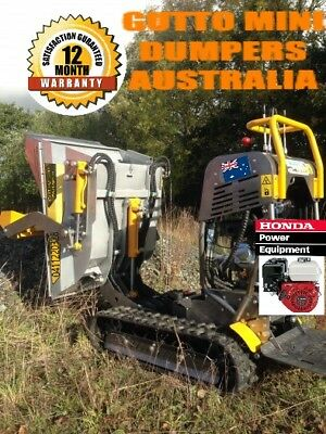 Motorised wheel  barrow  Bobcat , Skid Steer, Briggs &straton motor