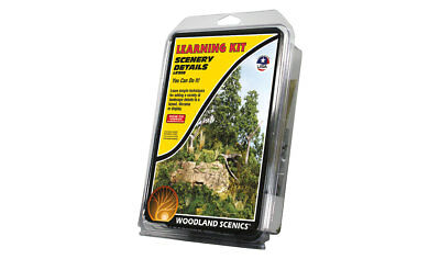 Woodland Scenics Learning Kit #956 - SCENIC DETAILS - Model Train Scenery - New