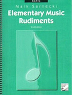 Elementary Music Rudiments Basic 2nd edition Mark Sarnecki