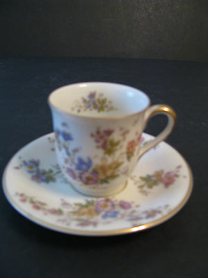 Royal Ivory KPM Demitasse Cup Saucer The Symphony