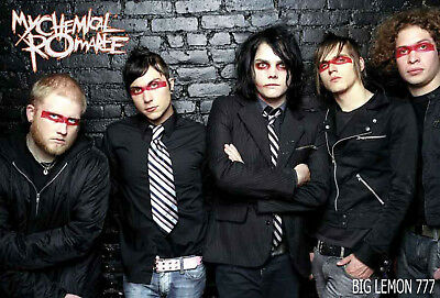 "MY CHEMICAL ROMANCE MUSIC POSTER 23""x34"""