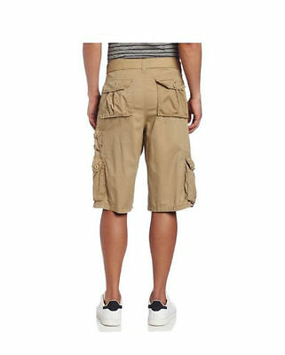 91af475302 SOUTHPOLE Mens 100% Cotton Cargo Shorts SP Collection KHAKI NWT pic size