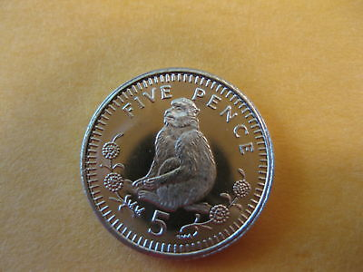 "2000 Gibralter Coin  ""MONKEY"",  Uncirculated beauty,  Nice coin"