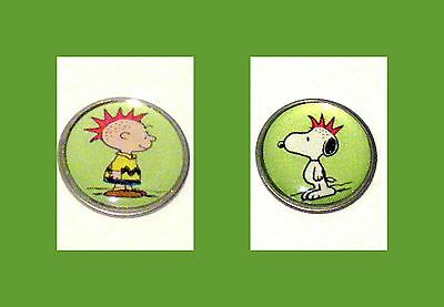 anneys ~ GOLF  BALL  MARKERS - * snoopy & co * ~