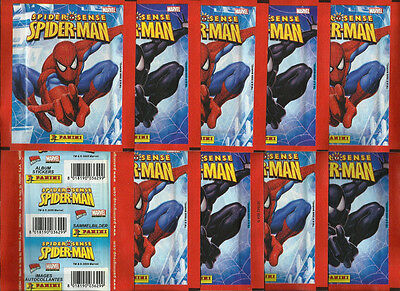 2009 PANINI SPIDER-MAN 10 Sealed Packets