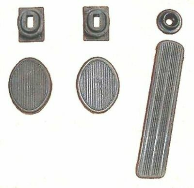 Pedal & Draft Seal Set for 1942-1948 and early 1949 Plymouth