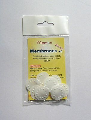 New Maymom membranes for Medela Breastpump (8 membranes per package)