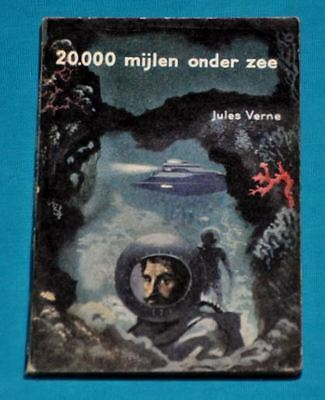 jules verne 20.000 mijlen onder zee BOOK DUTCH 1950s sf science fiction