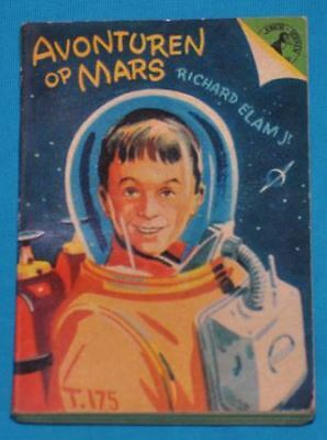 richard elam jr avonturen op mars BOOK DUTCH 1950s sf science fiction space