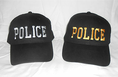 POLICE Embroidered Ball Cap Security, Law Enforcement