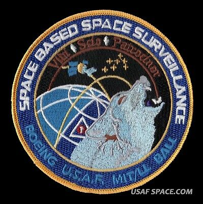 SPACE BASED SPACE SURVEILLANCE - BOEING NRO DOD Classified USAF SATELLITE PATCH