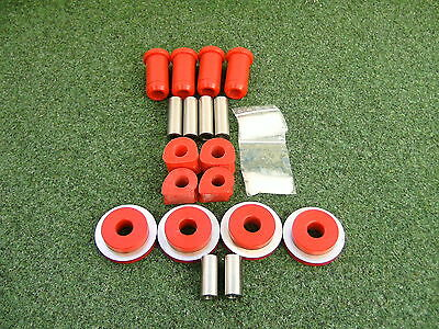 Hinterachs-Set PU VW Golf 2 Syncro Country 82shore rot PU-Lager Buchsen