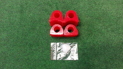 Stabilager Polyurethan PU-Lager Golf I rot hinten 21mm