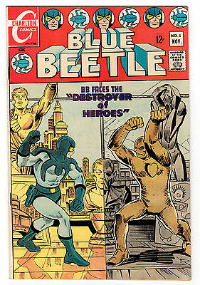 Blue Beetle #5 8.5 White Pages Silver Age Charlton