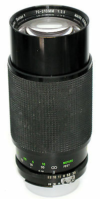 Vivitar Series 1 VMC 70-210mm f/3.5 Lens-FOR NIKON AI MOUNT MANUAL FOCUS CLEAN!