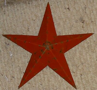 Rustic Genuine Amish Quality Primitive 42 inch Barn Star USA Made Old Barn Red
