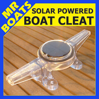 SOLAR POWER BOAT CLEAT ✱ Wharfs Jetties Pontoons Sea Walls ✱ These are AMAZING