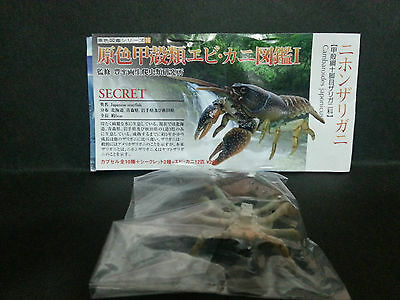 Yujin Shrimps and Crabs in Colour Gashapon Figure Japanese Crayfish New