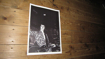 David Bowie Ziggy Stardust Sessions Guitar POSTER