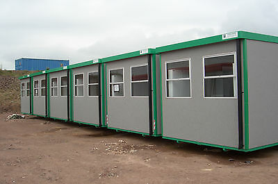 32'x10 ex-hire fleet CABIN Suitable as Offices, Mess, Drying or Locker rooms